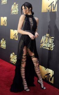 BURBANK, CALIFORNIA - APRIL 09: Model Kendall Jenner attends the 2016 MTV Movie Awards at Warner Bros. Studios on April 9, 2016 in Burbank, California. MTV Movie Awards airs April 10, 2016 at 8pm ET/PT. (Photo by Emma McIntyre/Getty Images for MTV)